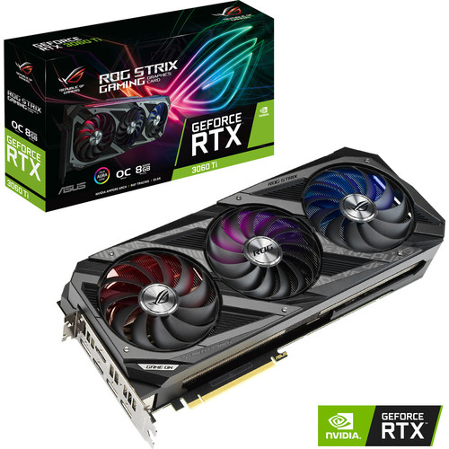 Asus GeForce RTX 3060 Ti ROG STRIX O8G GAMING