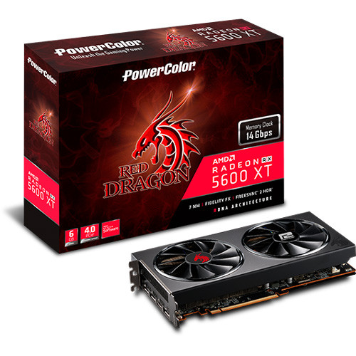 PowerColor Radeon RX 5600 XT Red Dragon