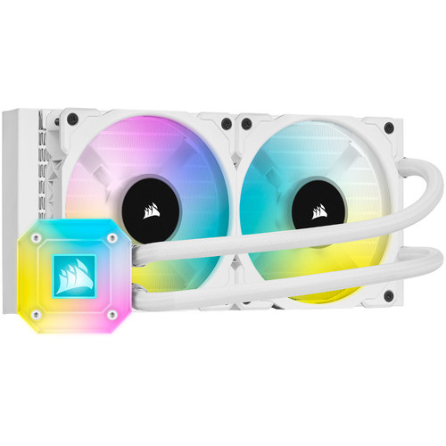 Corsair iCue H100i Elite Capellix Blanc - 240 mm