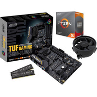 Kit �vo AMD Ryzen 5 3600 + Asus TUF B450-PLUS GAMING II + 16 Go