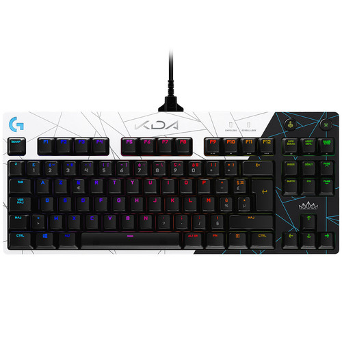 Logitech G Pro - (Switch GX Blue) (AZERTY) - Edition LoL K/DA