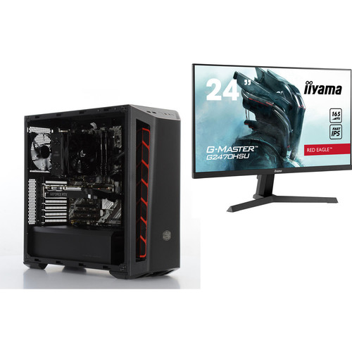 PC Gamer BATTLE ROYALE 1 RTX (v13) - Avec Windows + G2470HSU-B1