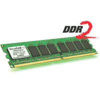 DDR2 Kingston ValueRAM, 2 Go, 800 MHz, CAS 5