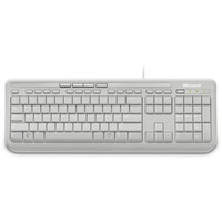 Microsoft Wired Keyboard 600 White (AZERTY)