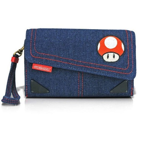 Housse de protection e concept toad nintendo 3ds xl for Housse 3ds xl zelda