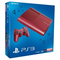 Sony PS3 Ultra Slim 500 Go Rouge PS3UltraSlim500Go