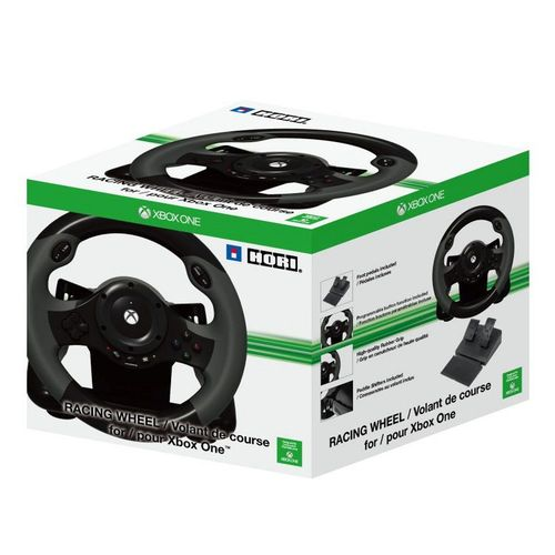 volant hori racing wheel xbox one top achat. Black Bedroom Furniture Sets. Home Design Ideas