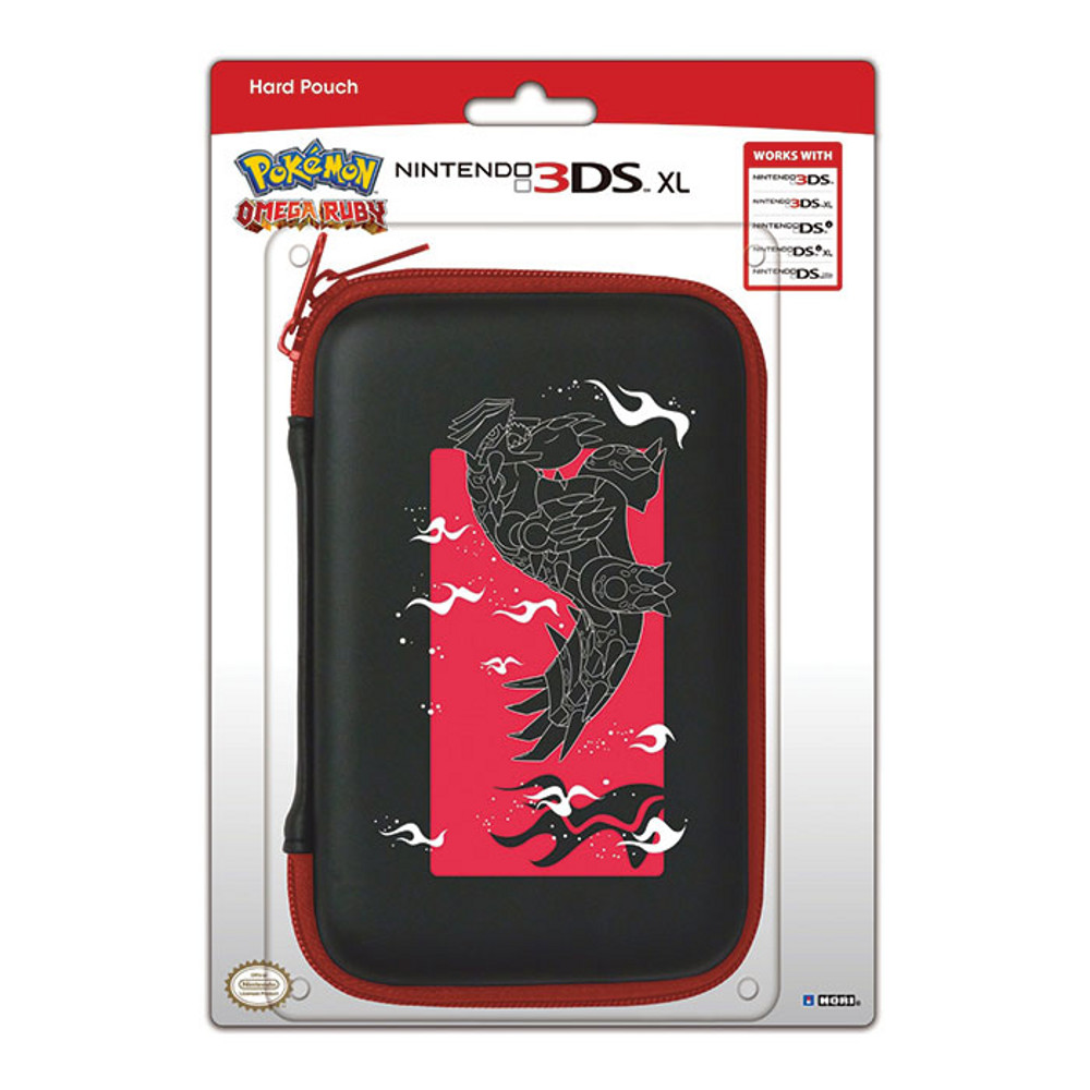 Sacoche hori coloris pokemon rubis omega nintendo 3ds xl for Housse 3ds xl pokemon