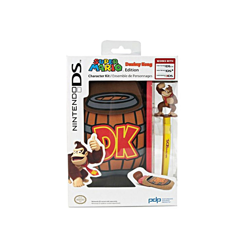Housse de protection pdp donkey kong edition nintendo ds for Housse nintendo 3ds xl