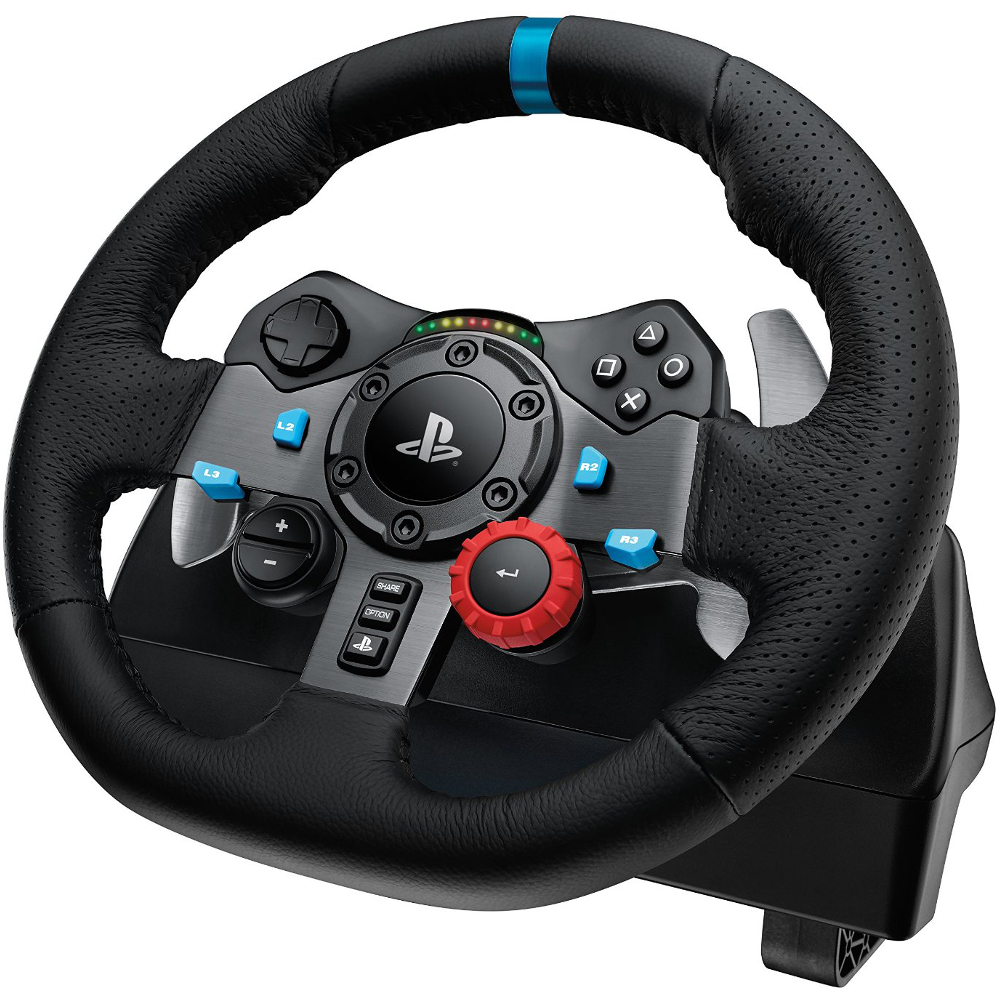 logitech g29 driving force ps3 ps4 pc achat pas. Black Bedroom Furniture Sets. Home Design Ideas