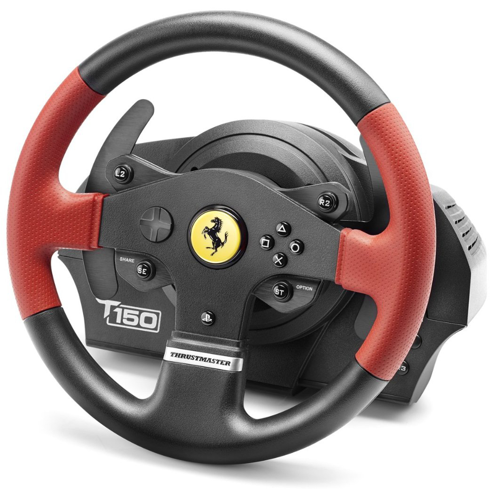 thrustmaster t150 ferrari force feedback pc ps3 ps4 achat pas cher avis. Black Bedroom Furniture Sets. Home Design Ideas
