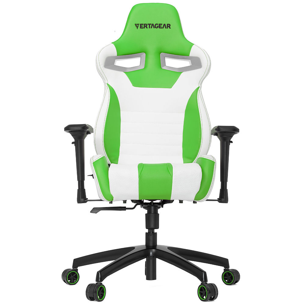 vertagear s line sl4000 blanc vert achat pas cher avis. Black Bedroom Furniture Sets. Home Design Ideas
