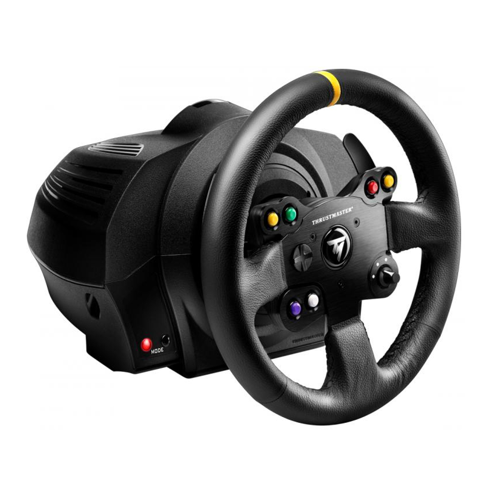 thrustmaster tx racing wheel leather edition xbox one pc achat pas cher avis. Black Bedroom Furniture Sets. Home Design Ideas