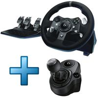 Logitech G920 Driving Force + Shifter - Xbox One / PC