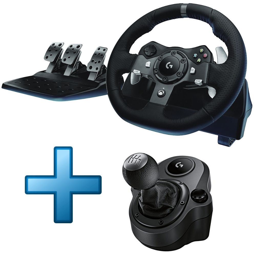 logitech g920 driving force shifter xbox one pc top achat. Black Bedroom Furniture Sets. Home Design Ideas