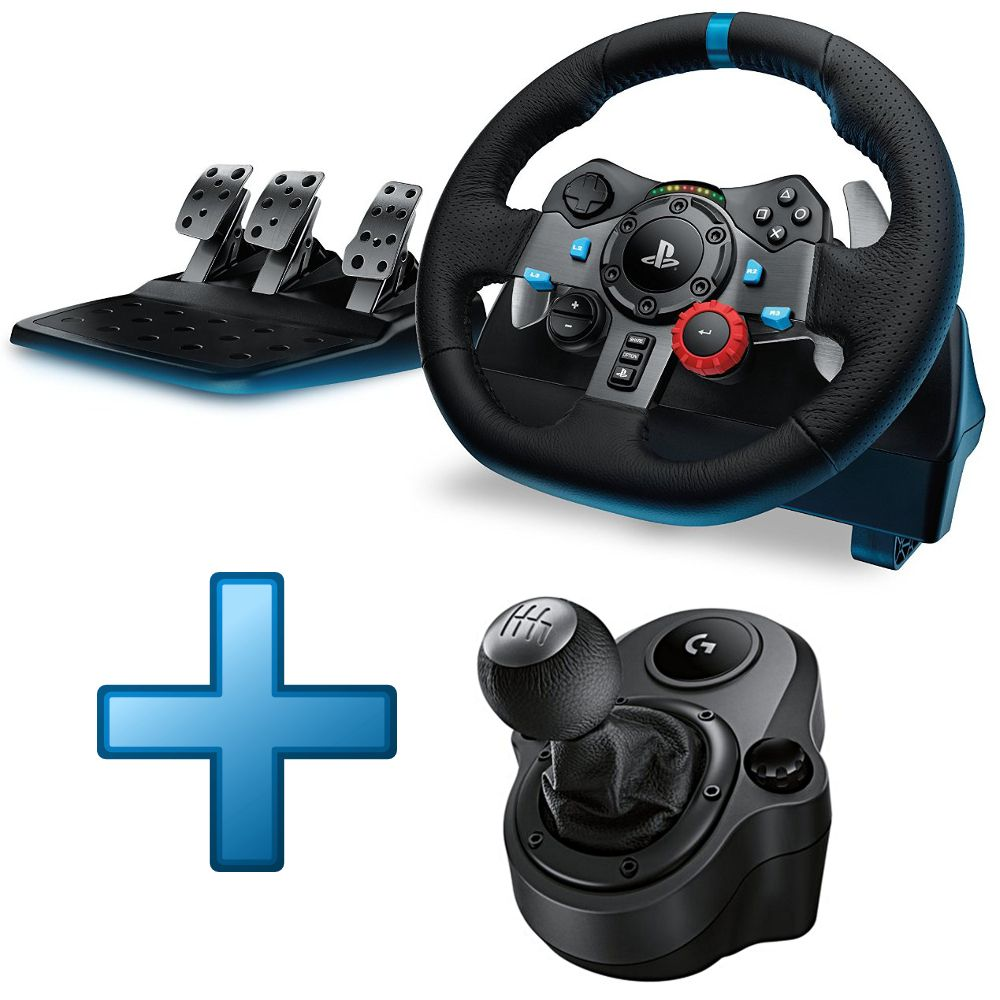 logitech g29 driving force shifter ps3 ps4 achat pas cher avis. Black Bedroom Furniture Sets. Home Design Ideas