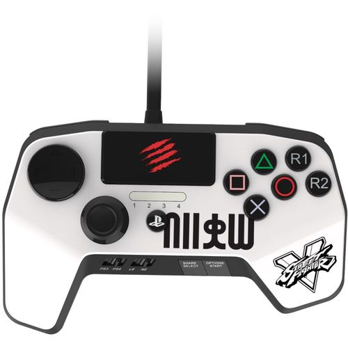 mad catz fightpad pro blanc ps3 ps4 top achat. Black Bedroom Furniture Sets. Home Design Ideas