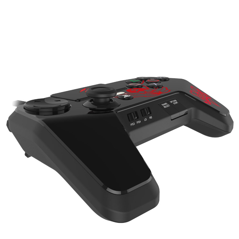 mad catz fightpad pro noir ps3 ps4 top achat. Black Bedroom Furniture Sets. Home Design Ideas