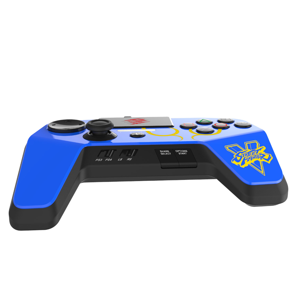 mad catz fightpad pro bleu ps3 ps4 top achat. Black Bedroom Furniture Sets. Home Design Ideas