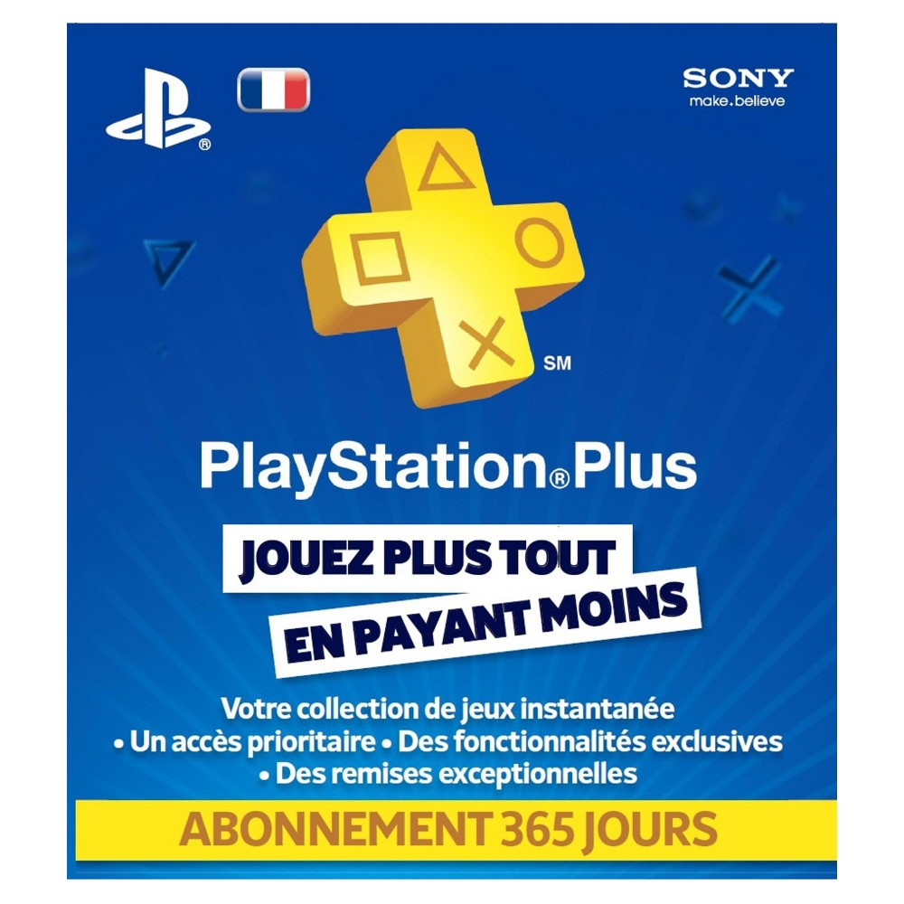 playstation plus livecards abonnement 12 mois achat. Black Bedroom Furniture Sets. Home Design Ideas