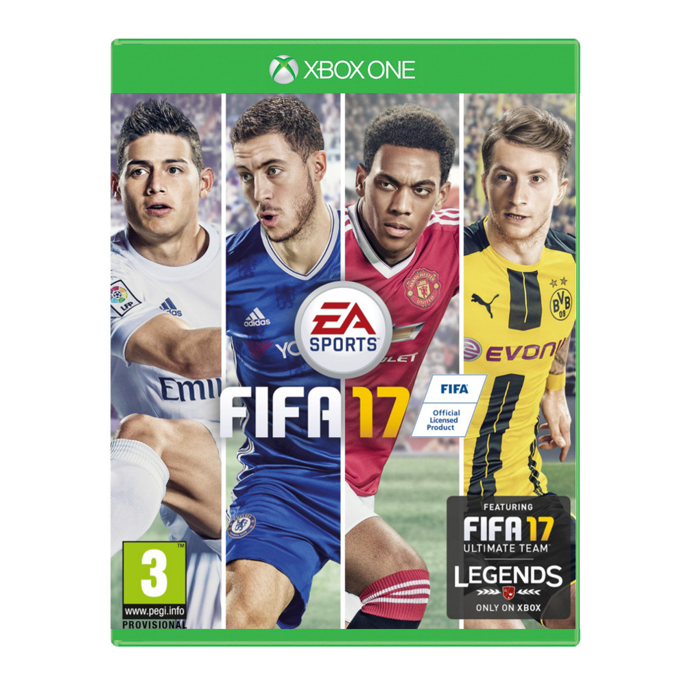 fifa 17 xbox one achat pas cher avis. Black Bedroom Furniture Sets. Home Design Ideas