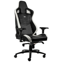Noblechairs Epic Cuir Black White et Red