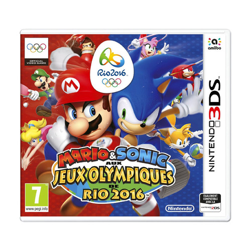 mario sonic aux jeux olympiques de rio 2016 nintendo 3ds top achat. Black Bedroom Furniture Sets. Home Design Ideas