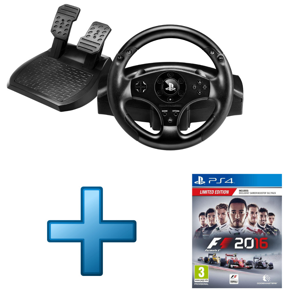 thrustmaster t80 racing wheel f1 2016 edition limit e ps4 top achat. Black Bedroom Furniture Sets. Home Design Ideas