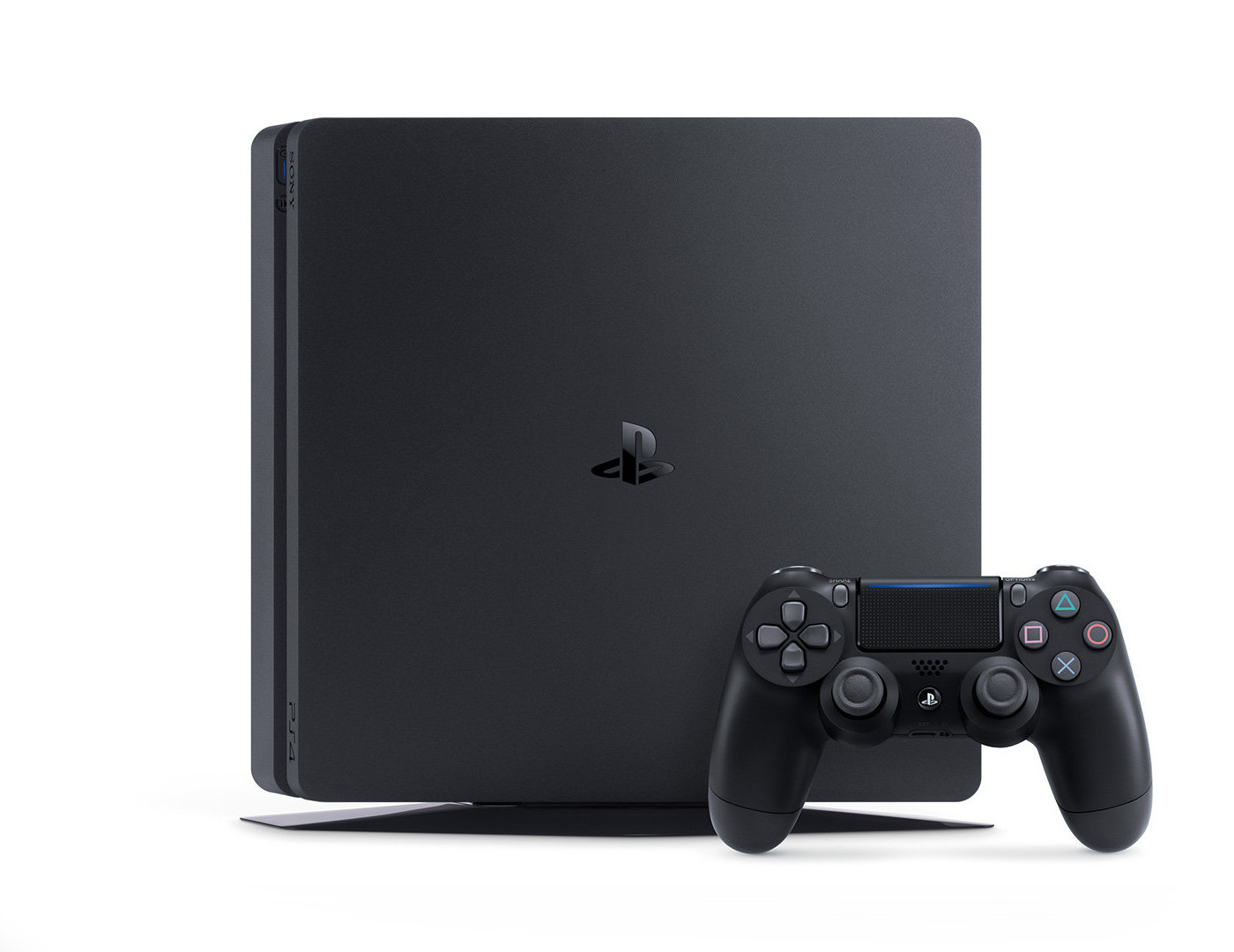 sony playstation 4 slim 500 go noir achat pas cher. Black Bedroom Furniture Sets. Home Design Ideas
