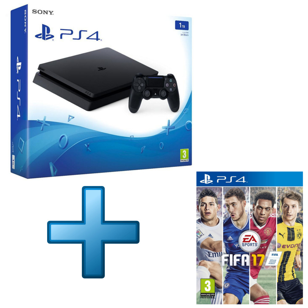 Sony Playstation 4 Slim 1 To Fifa 17 Offert Top Achat Ps4 Game