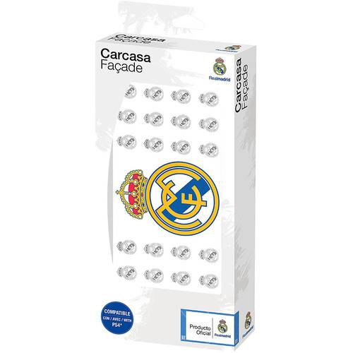 Subsonic Real Madrid Faceplate - PS4