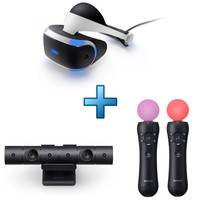 Sony PlayStation VR + PlayStation Cam�ra V2 + Paire PlayStation Move