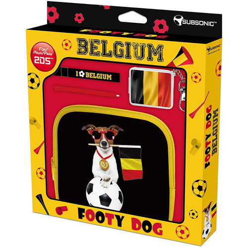 Subsonic Footy Dogs Pack Belgique - Nintendo 2DS