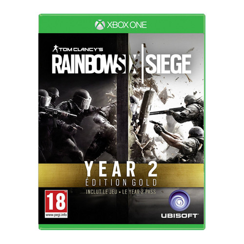 rainbow six siege edition gold year 2 xbox one achat pas cher avis. Black Bedroom Furniture Sets. Home Design Ideas