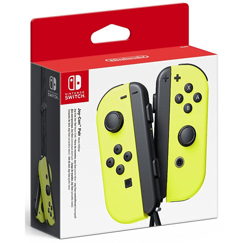 Paire de manettes Joy-Con Jaune - Nintendo Switch