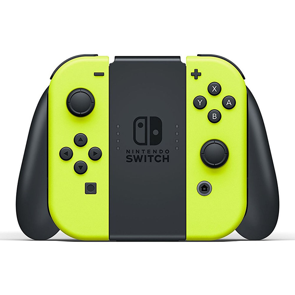 paire de manettes joy con jaune nintendo switch achat. Black Bedroom Furniture Sets. Home Design Ideas