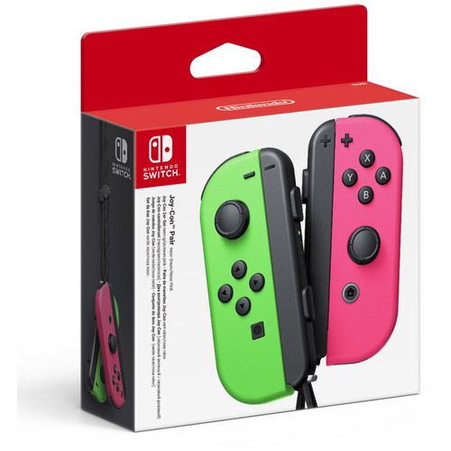 Paire de manettes Joy-Con Vert / Rose - Nintendo Switch