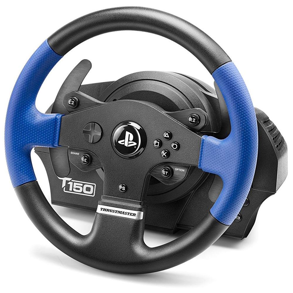 thrustmaster t150 pro force feedback pc ps4 ps3 achat pas cher avis. Black Bedroom Furniture Sets. Home Design Ideas
