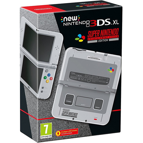 New Nintendo 3DS XL - Edition Super Nintendo Entertainment System