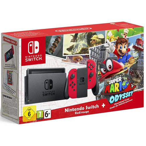 Nintendo Switch - Edition Super Mario Odyssey