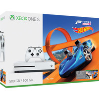 Microsoft Xbox One S (500 Go) + Forza Horizon 3 + Extension Hot Wheels