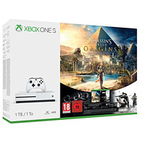 Microsoft Xbox One S (500 Go) + Assassin's Creed Origins + Rainbow Six Siege