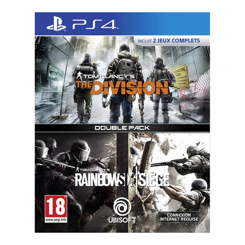 The Division + Tom Clancy's : Rainbow Six Siege - PS4