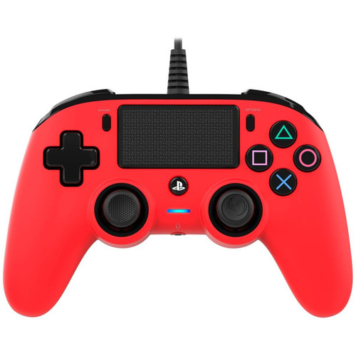 Nacon Compact Controller Rouge - PS4