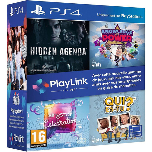 Pack 4 Jeux PlayLink - PS4