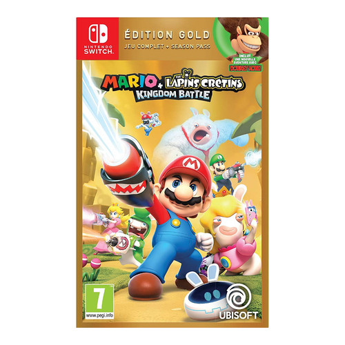 Mario + The Lapins Crétins Kingdom Battle - Edition Gold - Nintendo Switch