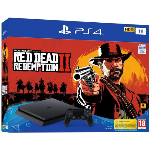 Sony PlayStation 4 Slim 1 To + Red Dead Redemption 2