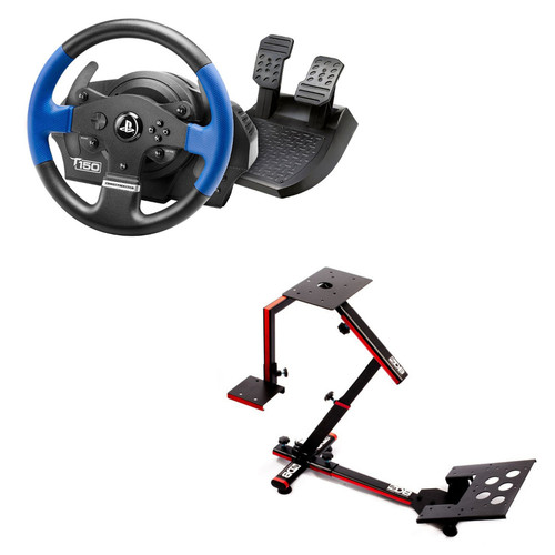 Thrustmaster T150 Force Feedback + 69DB Wheel Stand EVO
