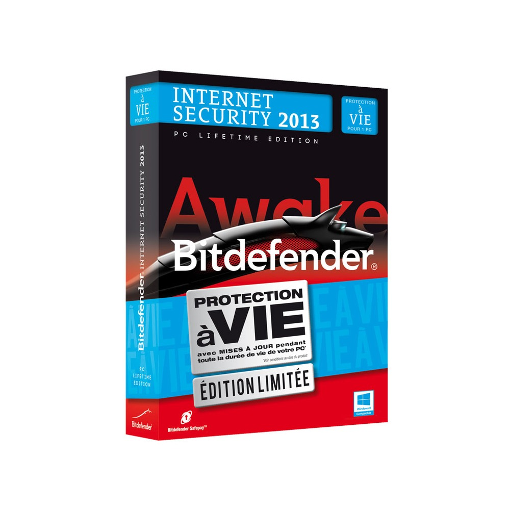 bitdefender internet security 2013 pc lifetime edition top achat. Black Bedroom Furniture Sets. Home Design Ideas