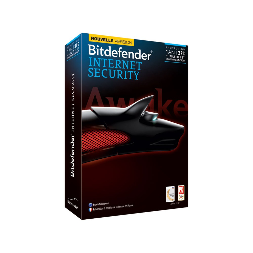 bitdefender internet security 2014 3 postes 1 an top achat. Black Bedroom Furniture Sets. Home Design Ideas